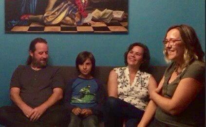Pascal, William, Anne et Lucie